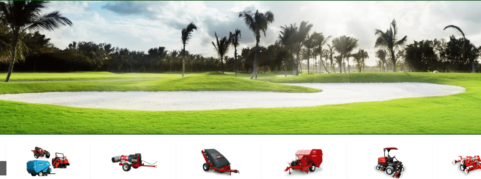 Golf Course Mowers Maintenance Equipment